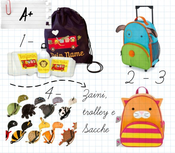 zaini skip hop, littlelife, lusciamar back to school