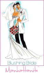 Wedding season is right around the corner! Shop for the Blushing Bride at ShopManhattanite.com!