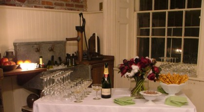 Champagne in the Kitchen