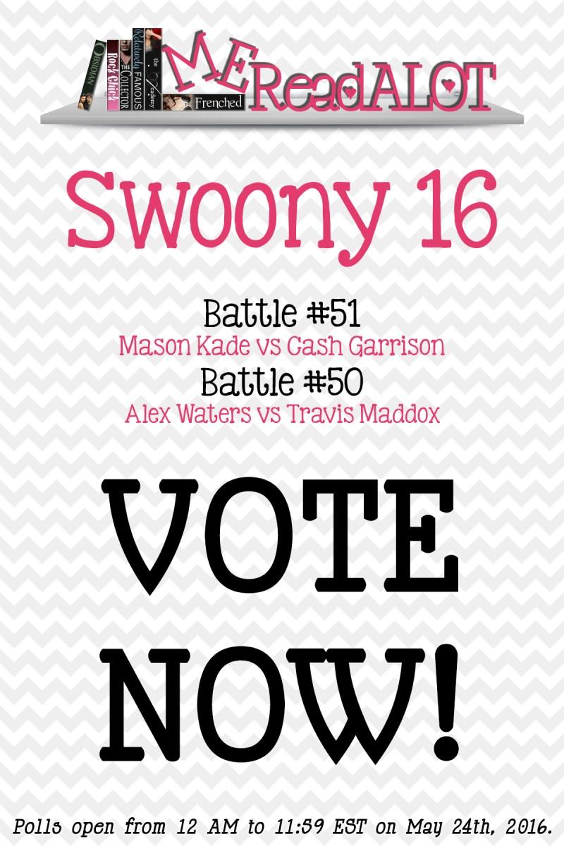 Book Boyfriend Battles - Swoony 16 - Day 2