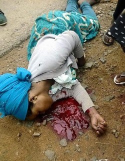 A young lady named Samia shot to death by Ethiopian regime's soldiers in Awaday town, East ...