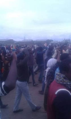 Protest under way in several Ethiopian cities today – August 6, 2016