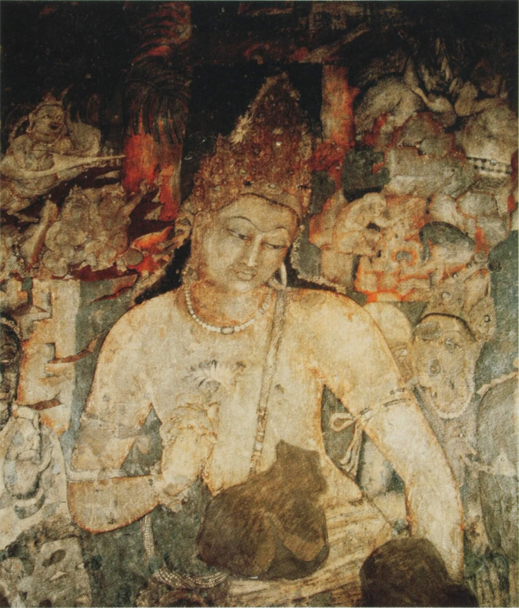 Bodhisattva_Padmapani_cave_1_Ajanta_India