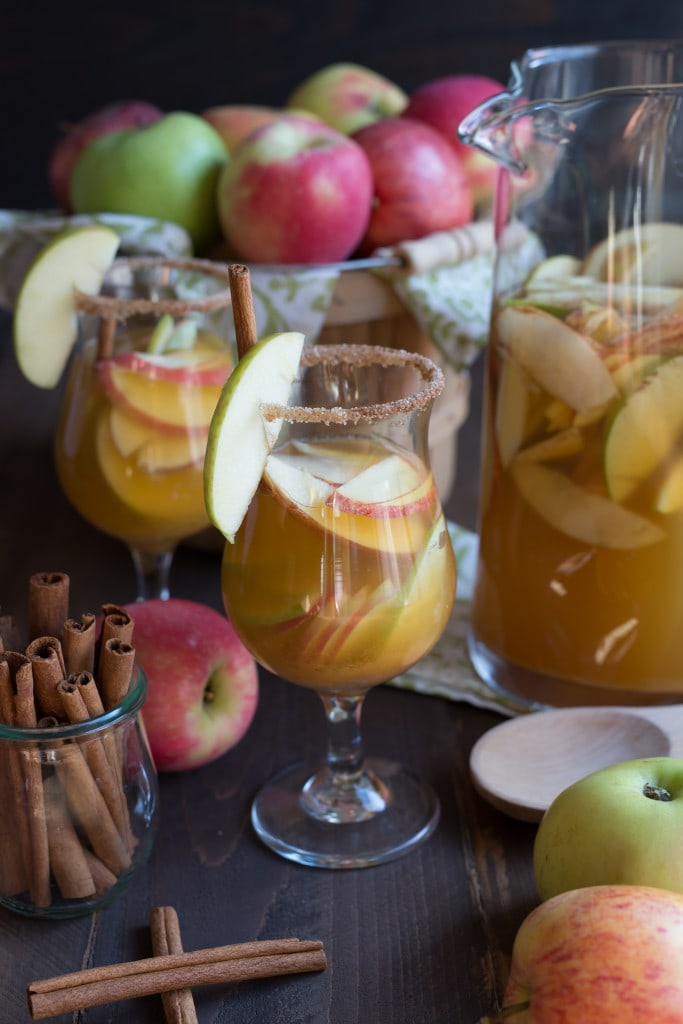 ... check out this recipe for sparkling apple cider sangria this sparkling
