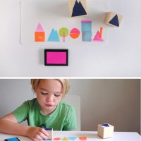 DIY Geometric Stamp Set