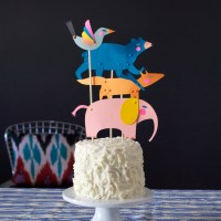 PLAYFUL Puppets for Birthday Cake and Cupcake toppers