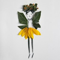 Make and Decorate Your Own Nature Paper Dolls