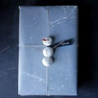 Easy Snowman Gift Topper