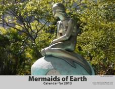 Mermaids of Earth Wall Calendar 2013 Cover