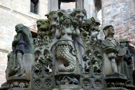 The King's Fountain Mermaid at Linlithgow Palace