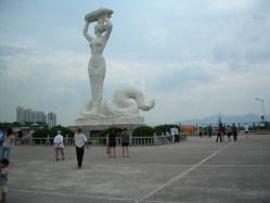 Nüwa Statue in Shenzhen