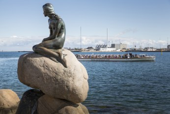 The Little Mermaid (Den Lille Havfrue), Copenhagen.