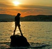 Atlante, Mermaid statue in Cannes