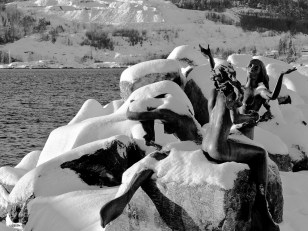 Drøbak Mermaid Sculpture