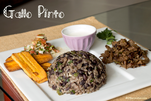 Gallo pinto costarricense