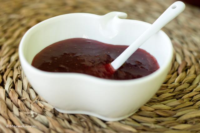 Mermelada de fresas al punto de sal