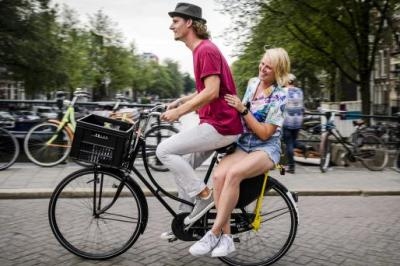 Amsterdam's backie scheme makes tourists welcome