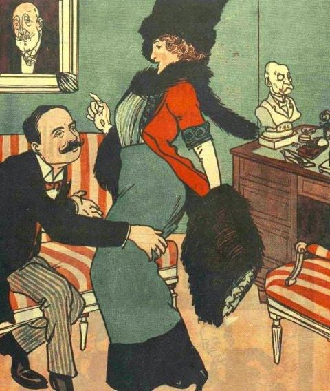 """""""- Dle Prefect, am venit să-ți cer pentru bărbatul meu un simplu scaun de deputat și dumneata îmi oferi o cogeamite canapea"""""""