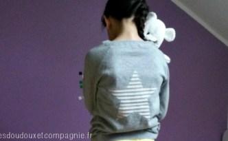 pull tricot fin imitation sweat