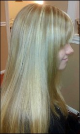Smoothed and straightened