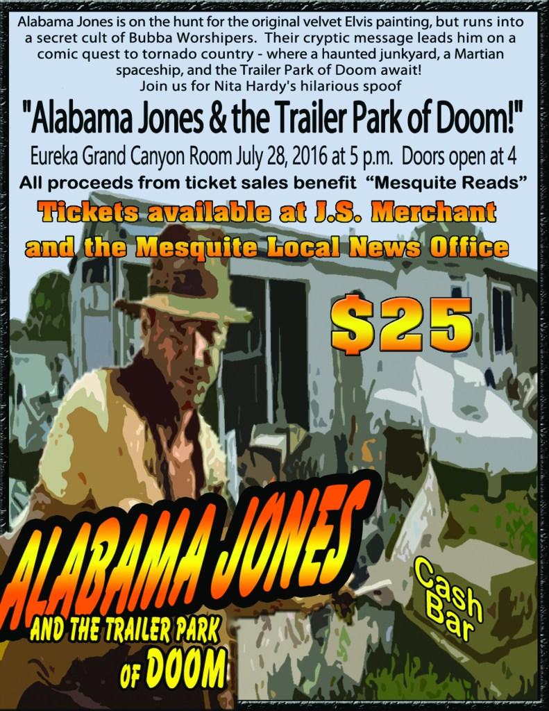 alabama jones small poster