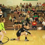 Lady Dawg volleyball fall to Pirates 3-1