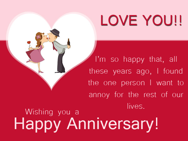 Funny anniversary card messages greetings and