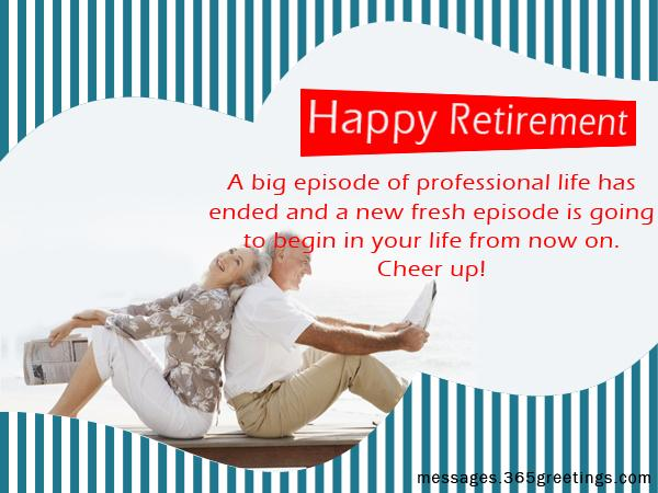 Retirement Wishes, Messages and Happy Retirement Greetings Messages ...