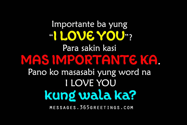 More Tagalog Love Quotes for Your BoyfriendQuotes About Crush Tagalog Sweet