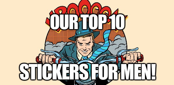 our top 10 iOS stickers for men