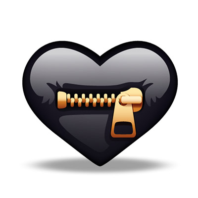 crazy hearts free iOS sticker messages pack