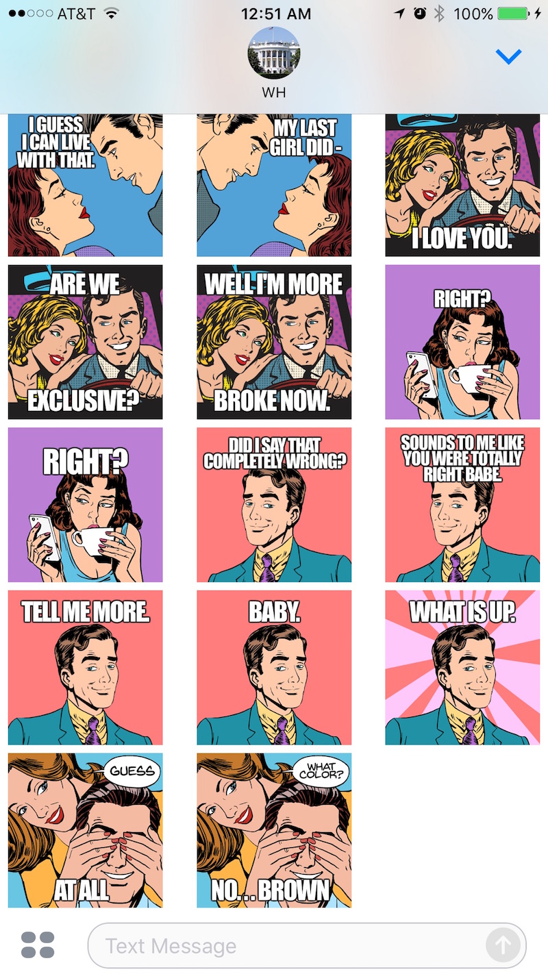 girlfriend Stickers for iMessage Apps