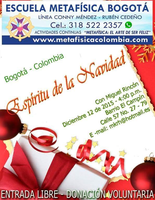 Espíritu de la Navidad   Metafísica Colombia