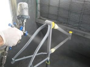 spraying primer 2
