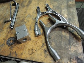 chain stay yoke parts