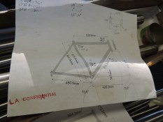 la confiDANtial's frame drawing