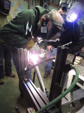 Frank tack welding