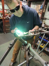 Scott brazing cable hanger