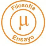 Logo filosofía y ensayo