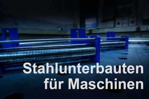 Stahlunterbauten_fuer_Maschinen