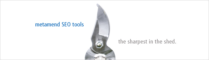 Free SEO Tools - The sharpest in the shed.