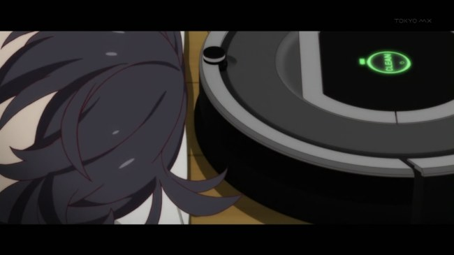 Monogatari Series Second Season - 01 Roomba