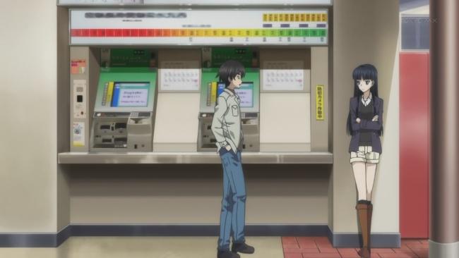 Kazusa in normal clothes