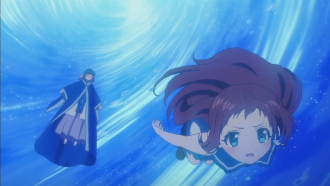 Manaka sacrifices herself