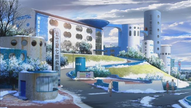 Nagi no Asukara-Nice Architecture