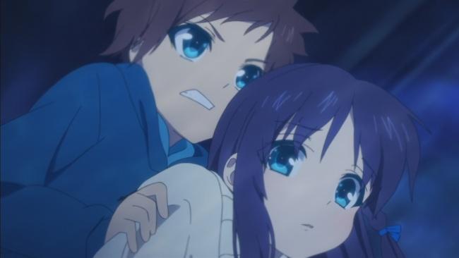 Nagi no Asukara-Hikari and Chisaki