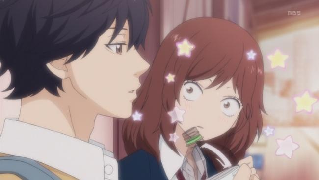Ao Haru Ride-Indirect Kiss