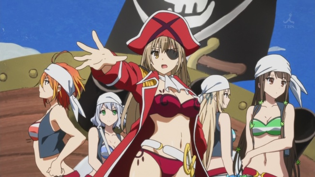 Amagi Brilliant Park-Pirate Sento