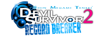 Shin Megami Tensei Devil Survivor 2 Record Breaker screenshot LOGO nintendo 3ds