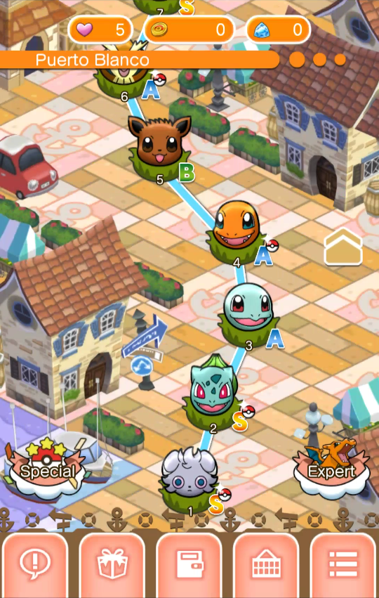 Pokémon Shuffle Mobile gratuit Android iOS App Store Google Play 3